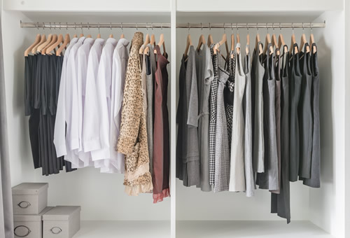 Wardrobe review service personal stylist
